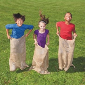 Birthday Party Package Games - Potato Sack Races