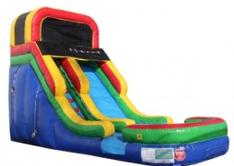 16' Inflatable Water Slide